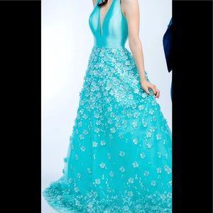 Jovani Mint Gown